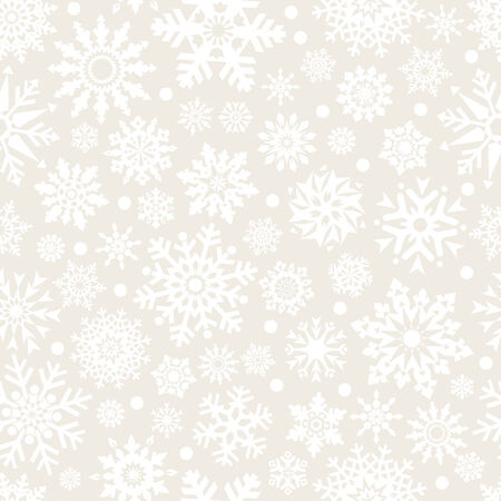 replicate: Snowflakes background seamless pattern - vector background for continuous replicate. See more seamlessly backgrounds in my portfolio. Illustration