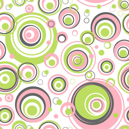 replicate: Circles seamless pattern - Vector background for continuous replicate. See more seamless patterns in my portfolio. Illustration