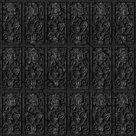 Metal tiles seamless background - texture pattern for continuous replicate. See more seamless backgrounds in my portfolio. photo