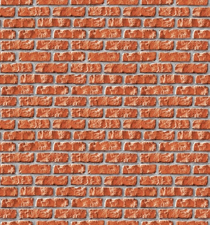 replicate: Red brickwork seamless background - texture pattern for continuous replicate. See more seamless backgrounds in my portfolio.