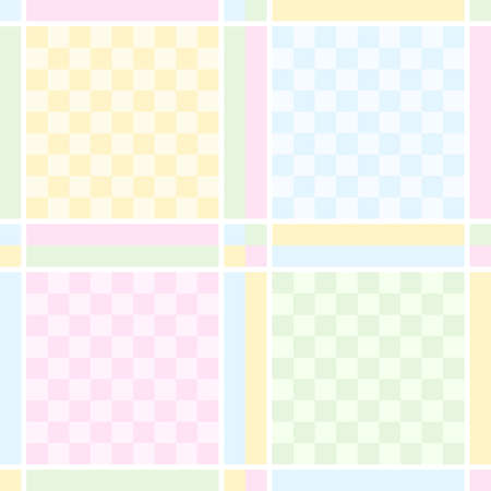 Checked seamless pattern - vector background for continuous replicate. See more seamless patterns in my portfolio. Vector