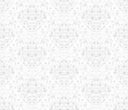 monochromic: Floral seamless pattern - vector background for continuous replicate. See more seamless patterns in my portfolio.