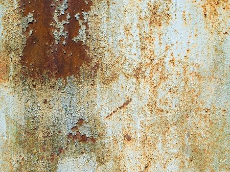metal corrosion: Rusty closeup background surface.