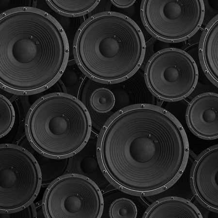 speaker: Speakers seamless background - texture pattern for continuous replicate. See more seamless backgrounds in my portfolio. Stock Photo