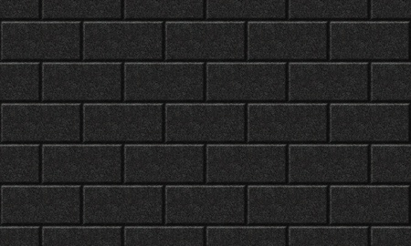 Seamlessly black wall background - texture pattern for continuous replicate. See more seamless background in my portfolio. Stock Photo - 9971553