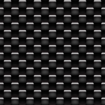 dark fiber: Zwarte koolstof naadloze patroon - textuur achtergrond voor continue repliceren. Zie meer naadloze achtergrond in mijn portefeuille.
