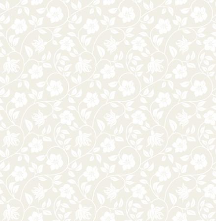 Fondo floral sin fisuras - modelo para replicar continua. Ver m�s fondos sin problemas en mi cartera. Foto de archivo - 11157334