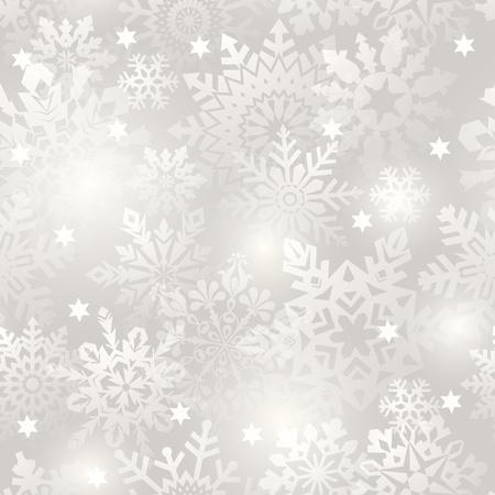 seamlessly: Fiocco di neve senza soluzione di sfondo - modello vettoriale per la replica continua. Scopri di pi� su sfondi senza soluzione di continuit� nel mio portafoglio.