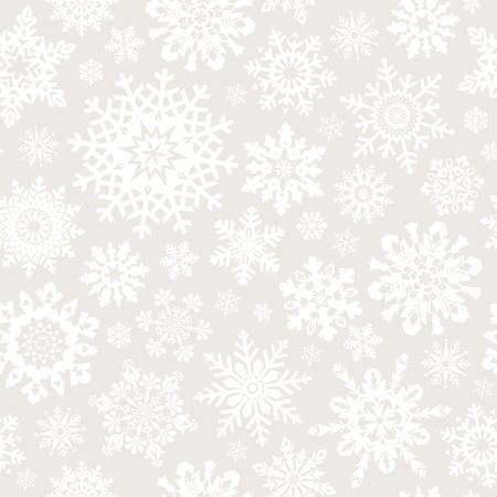 連続レプリケーションのシームレスな雪片のパターン。