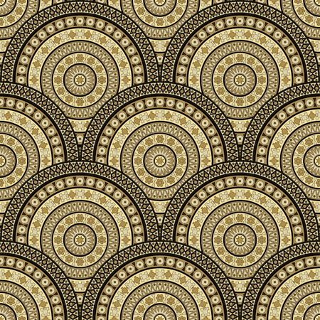 Seamless abstract background - pattern for continuous replicate. Illustration
