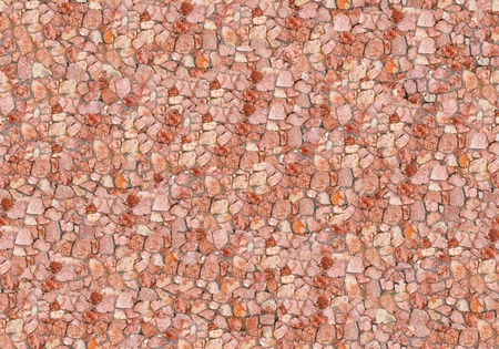 Seamless red stone wall - texture pattern for continuous replicate. See more seamless backgrounds in my portfolio. photo