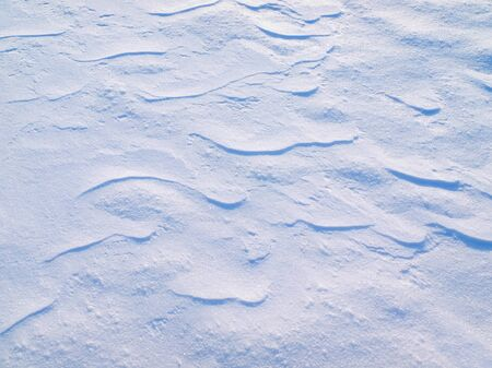snowdrift: Snow texture closeup background. Stock Photo