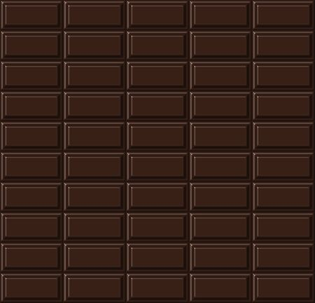 solid food: Chocolate seamless pattern. Stock Photo