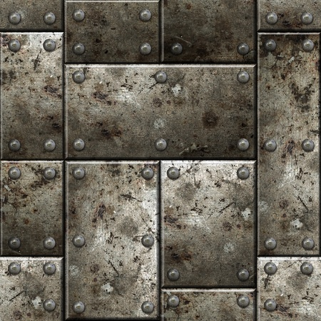 Armor seamless texture background. See more seamlessly backgrounds in my portfolio. Standard-Bild