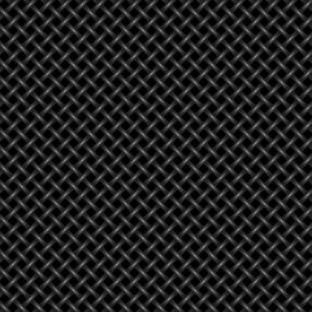 シームレスな編まれた背景 - 継続的なレプリケーションのためのベクトル パターン。  イラスト・ベクター素材