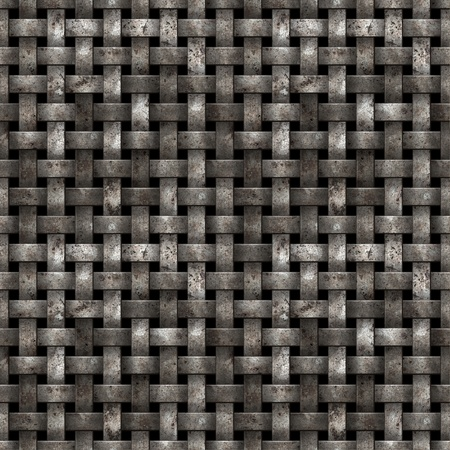 worn structure: Metal net seamless background - texture pattern for continuous replicate.
