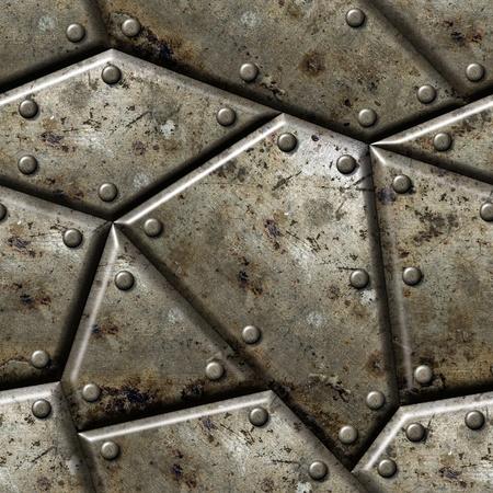 oxidado: Armadura de textura de fondo sin fisuras - textura de repetici�n continua.
