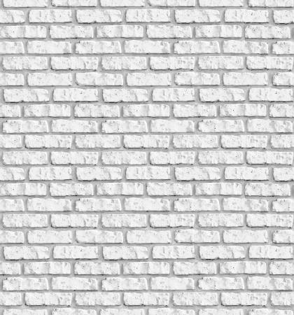 Weiß brickwall nahtlose Hintergrund - Textur-Muster für die kontinuierliche replizieren. Weitere nahtlose Hintergründe in meinem Portfolio. Standard-Bild