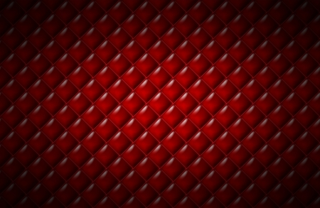Red leather surface. photo
