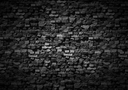 gloomy: Gloomy brickwall background.