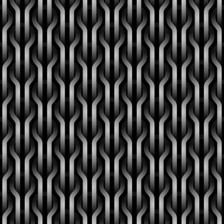 braiding: Seamless wickerwork pattern.