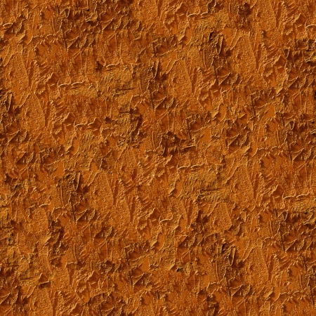 Seamless orange wall stucco closeup background - texture pattern for continuous replicate. photo