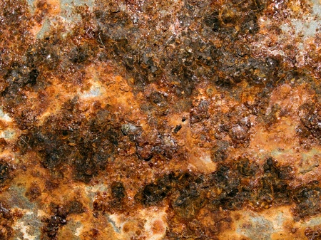 corrode: Rusted texture closeup background.