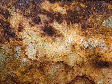 Rusted texture closeup background. Stock Photo - 16820914