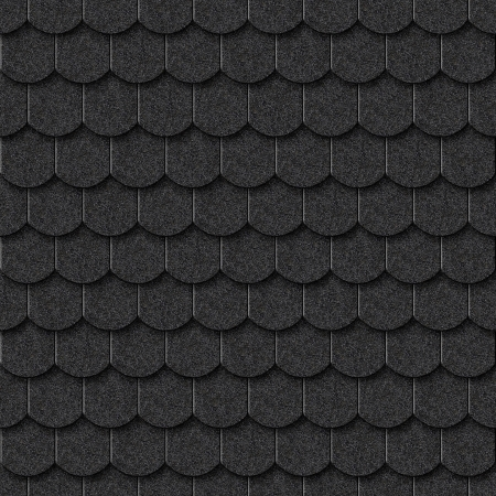 roofing material: Seamless dark tile texture background for continuous replicate.