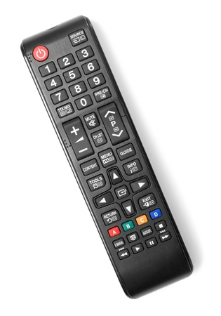 Remote control isolated on white background Imagens - 21596971