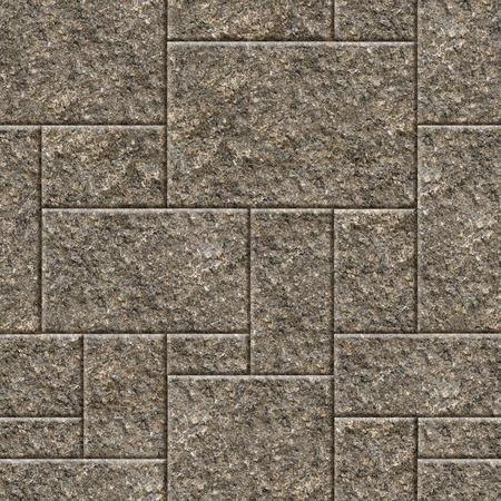 Seamless granite wall background. Stock Photo