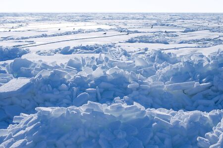 conglomeration: Frozen sea.
