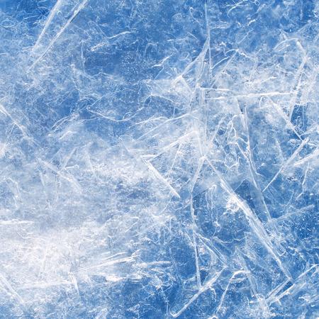 Textura del hielo de fondo de cerca.