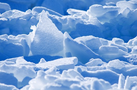 conglomeration: Ice.