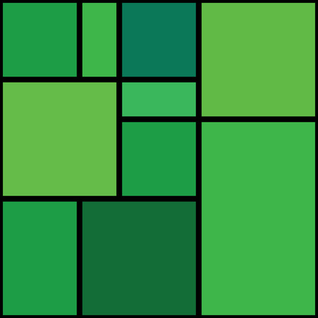 perpendicular: Seamless abstract green geometrical pattern.