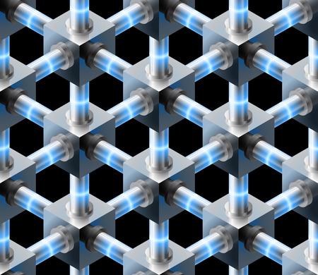 connexion: Seamless pattern.