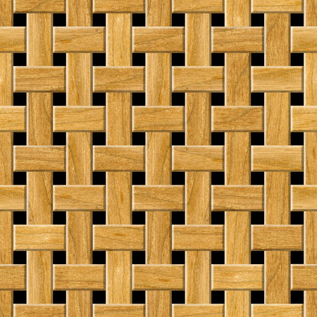 lattice: Seamless wooden lattice pattern background. Stock Photo