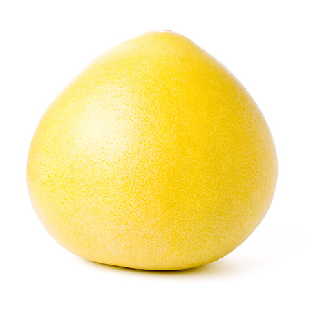citrus maxima: Pomelo fruit isolated on white background.