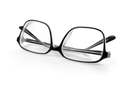 specs: Spectacles isolated on white background.