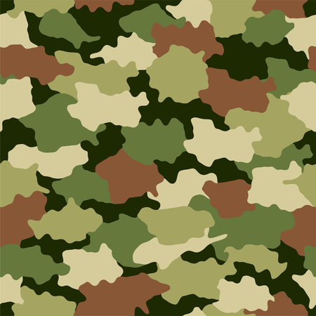 Seamless camouflage pattern background.
