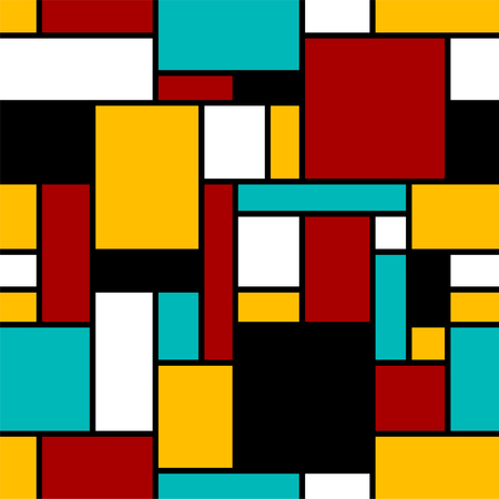 Abstract seamless geometrical pattern. Ilustração