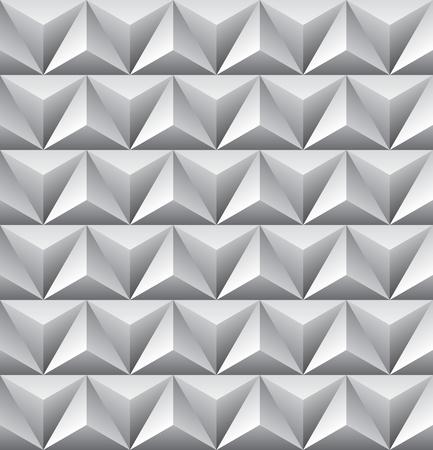 Seamless abstract triangle pattern. Ilustração