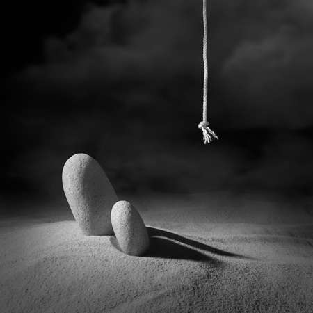 """""""Plaintive premonition of something that had once been"""". """"Searching Philosopher Stone"""". Series of photo etudes. Artistic photography."""