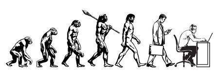 Théorie de l'évolution de l'homme