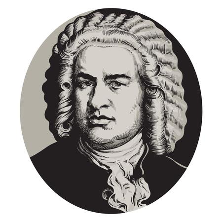Jean-Sébastien Bach Vecteurs