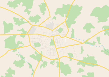 Gros plan de la ville Banque d'images - 31061325