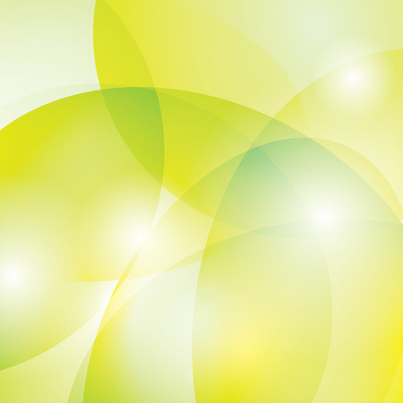 yellow and green vector background Stock Vector - 32845236