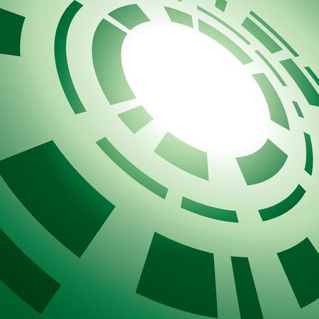 abstrakce: zelené pozadí s abstrakce - vektor - eps 10 Ilustrace