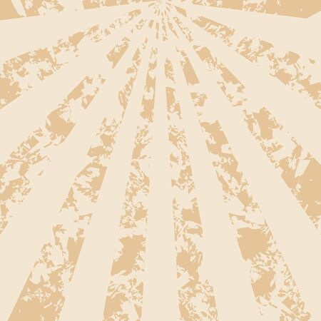 rays light: light beige vintage background with rays  Illustration