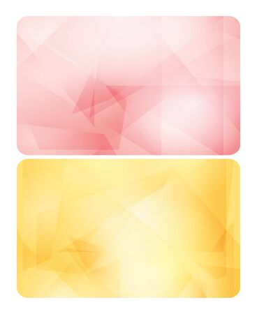 rosy: rosy and yellow backgrounds for cards - abstract